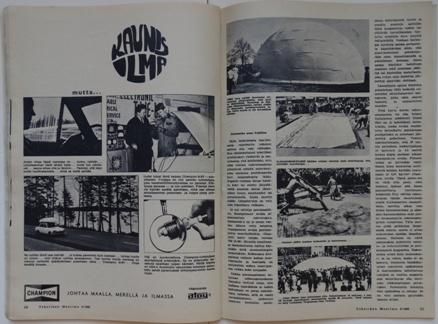 Tekniikan Maailma September 1968 | Pages 64-65