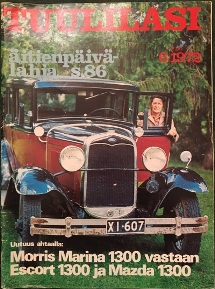 Tuulilasi - Issue 6 1972 - Cover