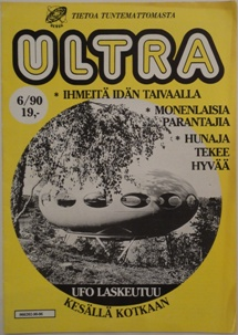 Ultra Issue 6/1990 Cover