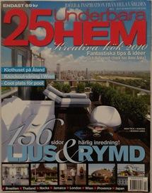 25 Underbara Hem Issue 2 2010 - Cover