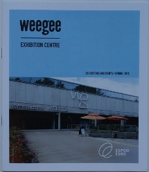 WeeGee Exhibition Center Event Guide Spring 2015 - Cover