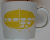 Futuro House Logo Mug - WeeGee Exhibition Shop