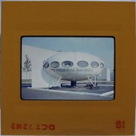 35mm Slide - Futuro Woodbridge Mall October 1972 - 12