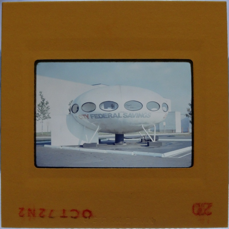 35mm Slide - Futuro Woodbridge Mall October 1972 - 13
