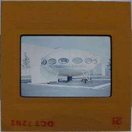 35mm Slide - Futuro Woodbridge Mall October 1972 - 14