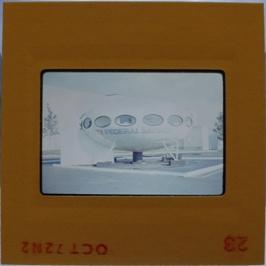 35mm Slide - Futuro Woodbridge Mall October 1972 - 16