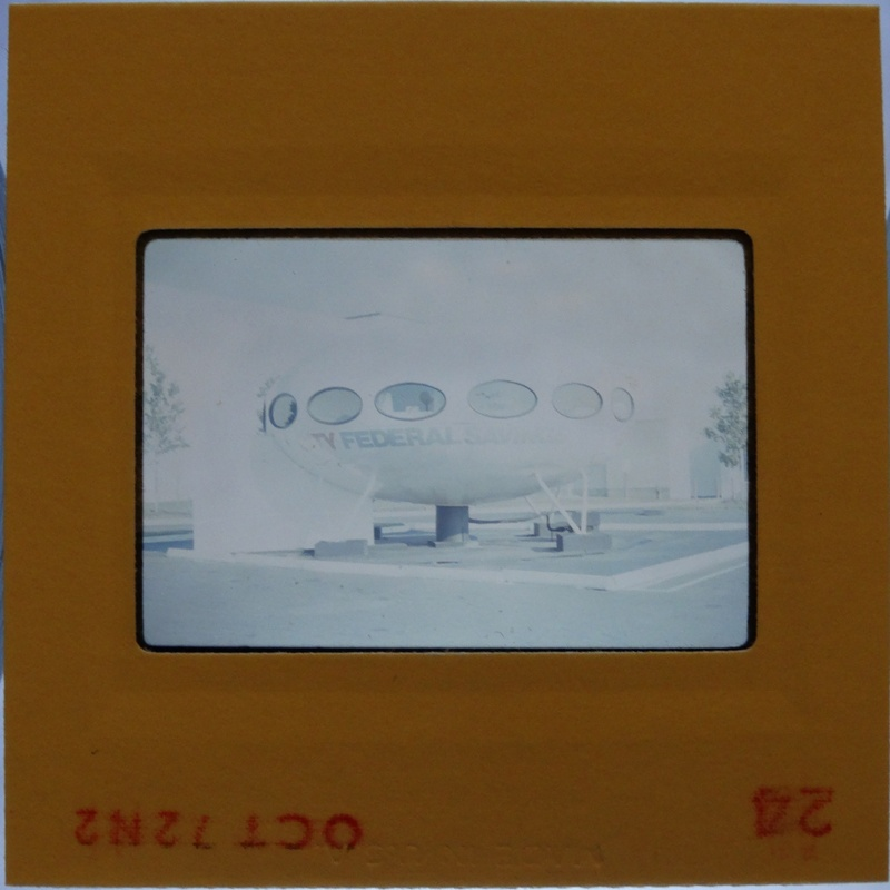 35mm Slide - Futuro Woodbridge Mall October 1972 - 17