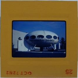 35mm Slide - Futuro Woodbridge Mall October 1972 - 18