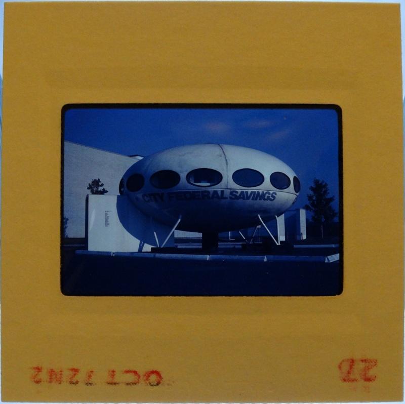 35mm Slide - Futuro Woodbridge Mall October 1972 - 19