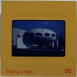 35mm Slide - Futuro Woodbridge Mall October 1972 - 20