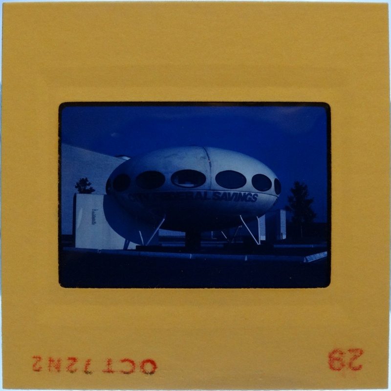 35mm Slide - Futuro Woodbridge Mall October 1972 - 21