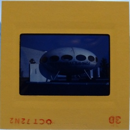 35mm Slide - Futuro Woodbridge Mall October 1972 - 22