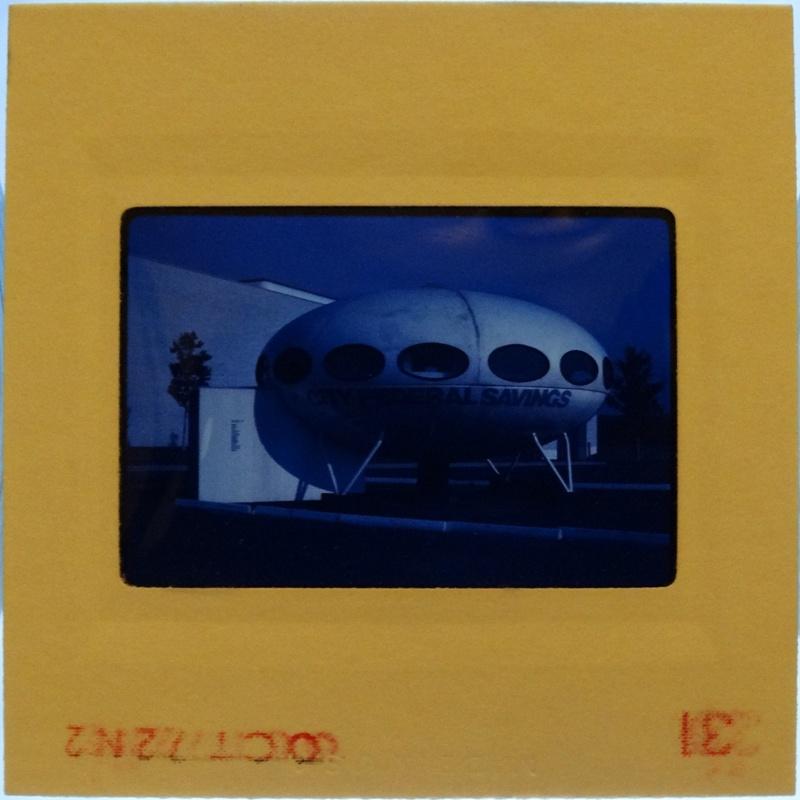 35mm Slide - Futuro Woodbridge Mall October 1972 - 23