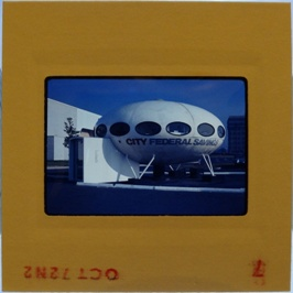 35mm Slide - Futuro Woodbridge Mall October 1972 - 5