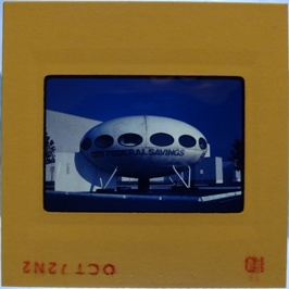 35mm Slide - Futuro Woodbridge Mall October 1972 - 7