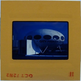 35mm Slide - Futuro Woodbridge Mall October 1972 - 8