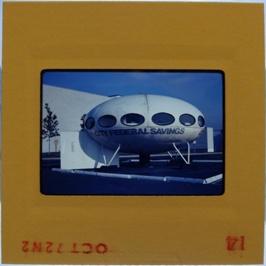 35mm Slide - Futuro Woodbridge Mall October 1972 - 9