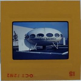 35mm Slide - Futuro Woodbridge Mall October 1972 - 10