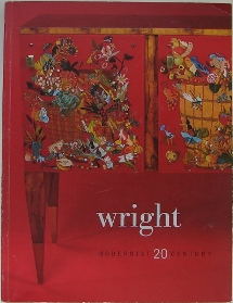 Wright Auction Catalog - Modernist 20th Century - 120504