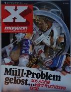 X Magazin 1/1972 Cover