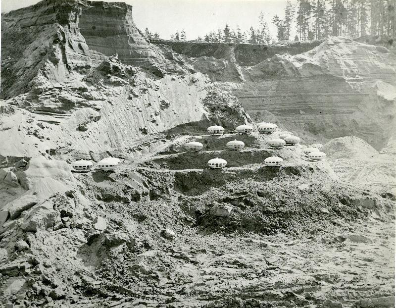 Futuro Sandbox - 1969 - Tuusulan Anttilassa - Korhonen, Mauri, Photographer - Espoo City Museum Photo Collection - 24
