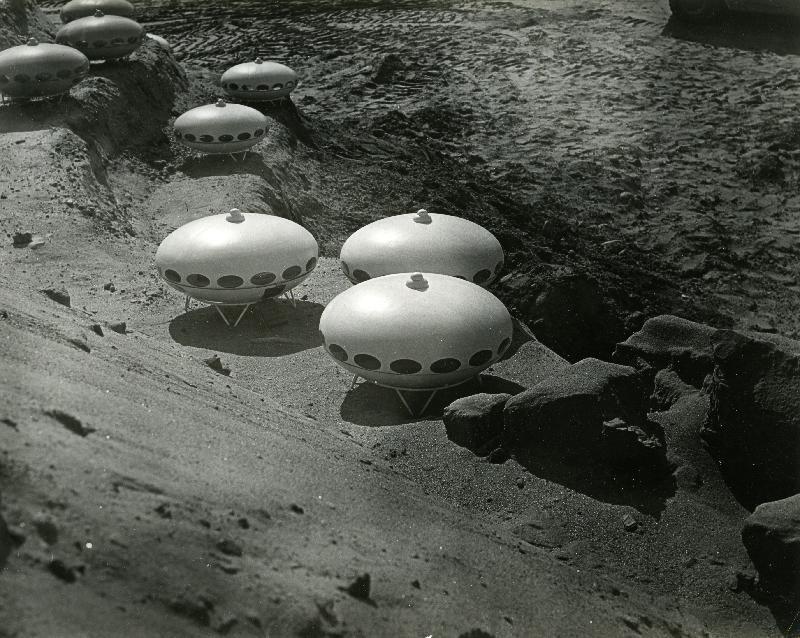 Futuro Sandbox - 1969 - Tuusulan Anttilassa - Korhonen, Mauri, Photographer - Espoo City Museum Photo Collection - 1