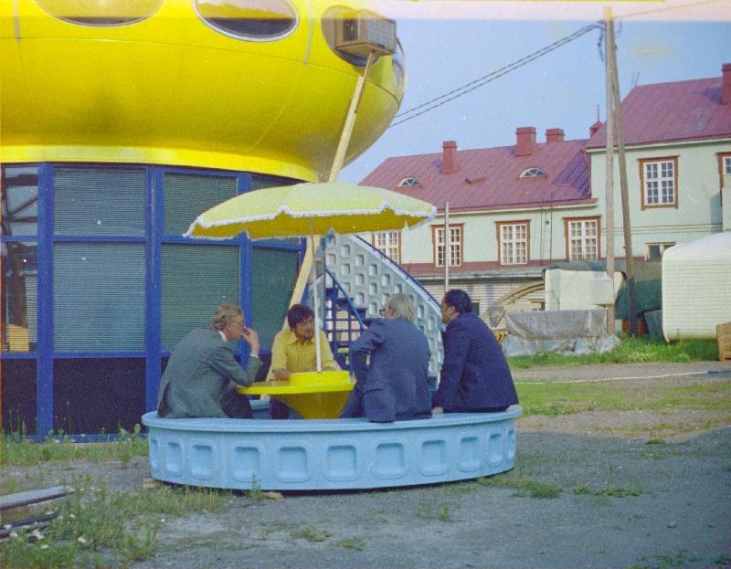 Futuro Two Story Variant - Polykem Plant - Ruotsinpyhtaa - 1977 - Unknown Photographer - Espoo City Museum Collection - 1