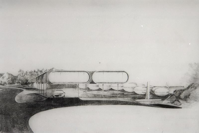 Futuro - Drawing - Unknwn Artist - Espoo City Museum Collection - 1
