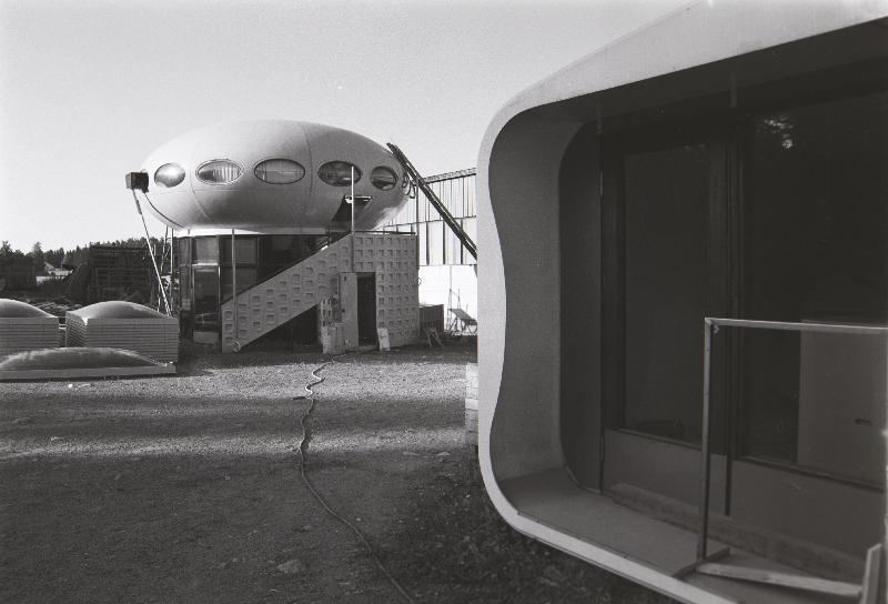 Futuro Two Story Variant - Polykem Plant - Ruotsinpyhtaa - 1977 - Unknown Photographer - Espoo City Museum Collection - 4