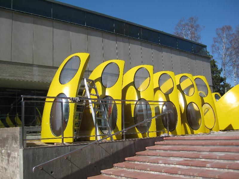 Futuro #001 WeeGee Exhibition Center April 2012 - Photgrapher Marja Sahlberg - Espoo City Museum Collection - 2