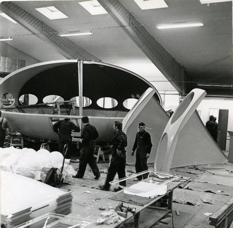 Futuro - Polykem Plant - 1968 - Hiekkaharju - Unknwn Photographer - Espoo City Museum Collection - 2