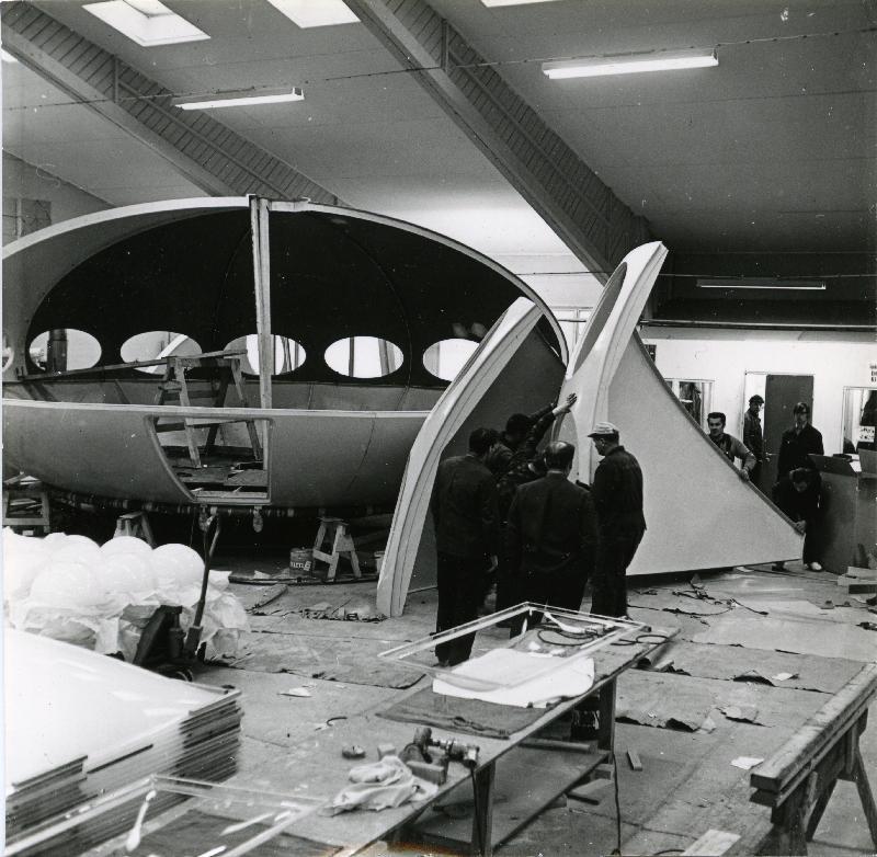 Futuro - Polykem Plant - 1968 - Hiekkaharju - Unknwn Photographer - Espoo City Museum Collection - 1