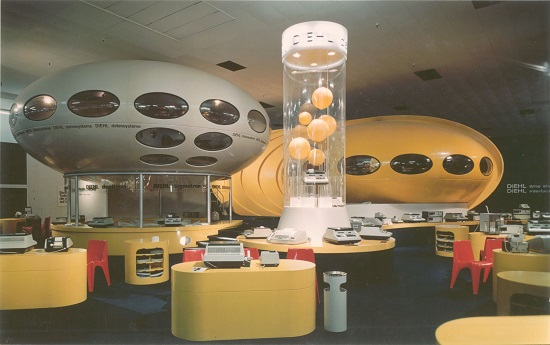 Diehl Stand 1970 Exhibition Photo - Courtesy Of Expotechnik