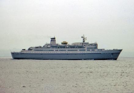 Finnpartner Ferry - At Sea 1968