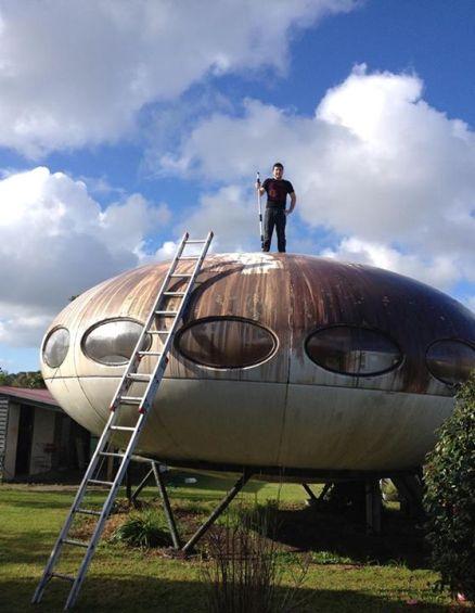 Futuro, Kaimaumau, New Zealand - Prior To Disassembly