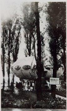 Futuro, Berlin, Germany - Spreepark 1968 - Cora Facebook Timeline