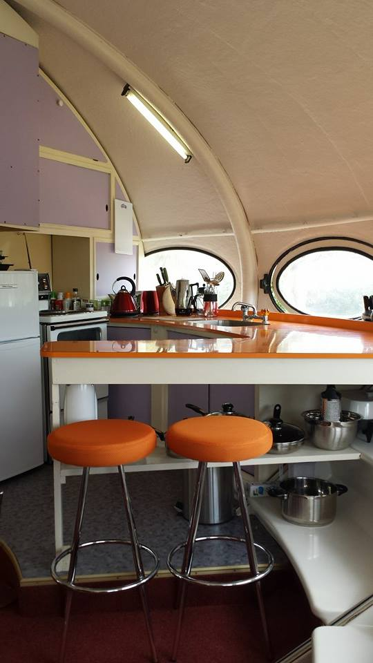 Futuro, Warrington, New Zealand - Shot By Owner From Futuro Homes Of New Zealand Facebook Page - 9