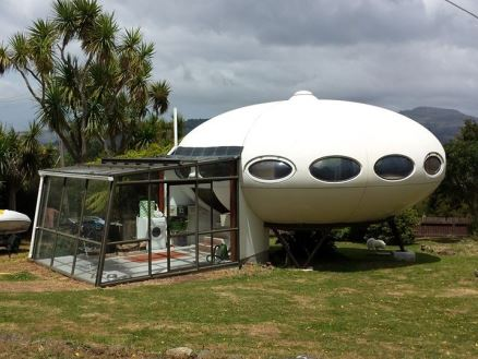 Futuro, Warrington, New Zealand - Shot By Owner From Futuro Homes Of New Zealand Facebook Page 1