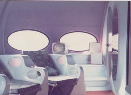Futuro - Lancashire, UK - 1970's - Interior - Brian M. Carr
