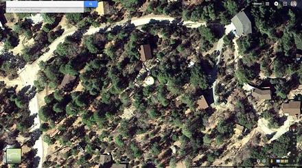 Futuro, Idyllwild, California, USA - Google Maps Screenshot