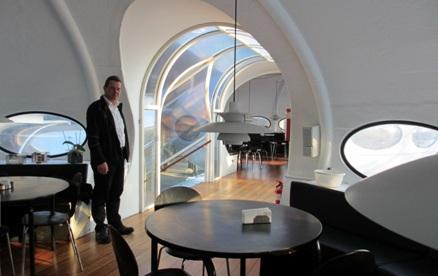 Futuro, Kvistgard, Denmark - Interior Shot 1 From Foreningen Norden