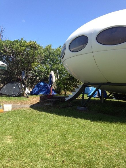 Rangiora New Zealand  city pictures gallery : The Futuro House Rangiora, New Zealand Information, Photographs ...