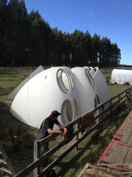 Futuro, Kaimaumau, New Zealand - Storage After Transport