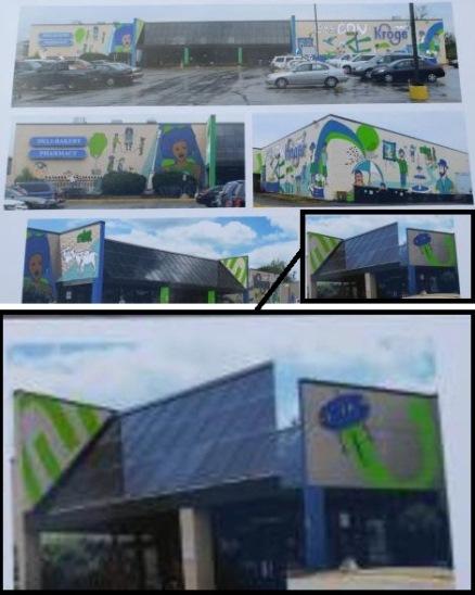 Futuro, Covington, Kentucky, USA - Kroger Mural