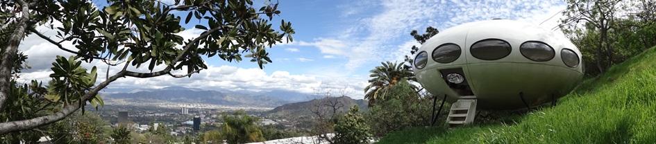Futuro, Los Angeles, CA, USA - Panoramic Shot Taken 022815