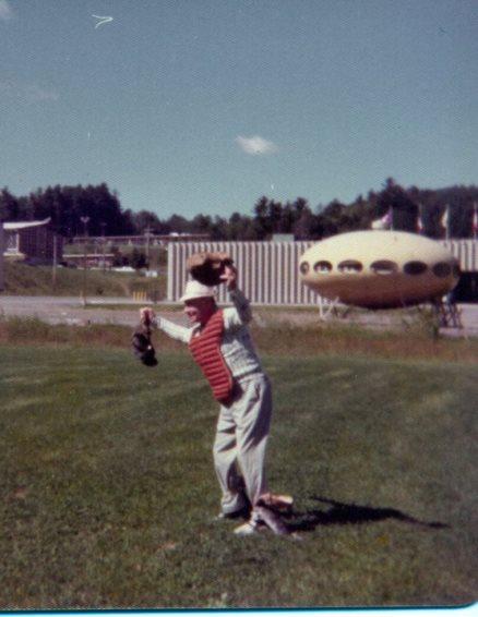 Futuro, Lake George - Gaslight Village Facebook Page 1976