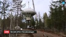 Swedish Air Force Futuro - Stratjara - helahalsingland.se Video - 042116 - Lift 10
