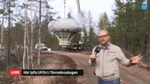 Swedish Air Force Futuro - Stratjara - helahalsingland.se Video - 042116 - Lift 11