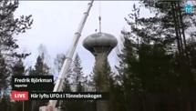 Swedish Air Force Futuro - Stratjara - helahalsingland.se Video - 042116 - Lift 2