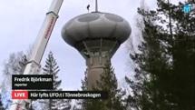 Swedish Air Force Futuro - Stratjara - helahalsingland.se Video - 042116 - Lift 3